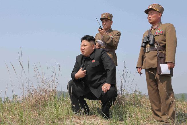北韓最高領導人金正恩。路透