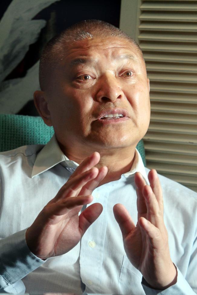 汪道涵兒子─上海向陽公益基金會理事長汪致重。(本報資料照片)