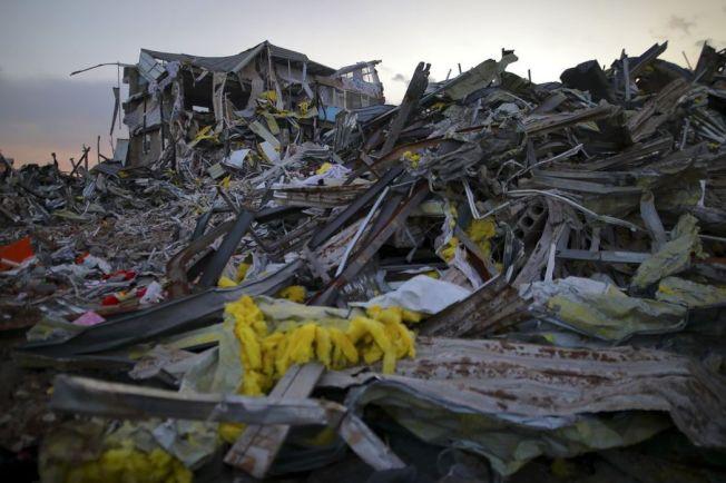 北京上月底一場惡火奪去十九條性命,數十萬「低端人口」被驅離,引發人道爭議。 歐新社資料照