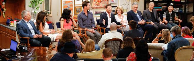 蔡丞恩在在CBS多鏡頭喜劇「三三代同層」(9JKL)中扮演喜歡閒逛,聰明又刻薄的12歲鄰居Ian。(CBS圖片)