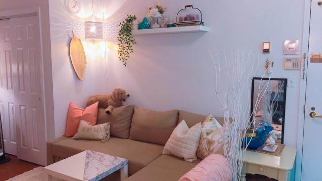 阿斯托利亞新家的客廳。