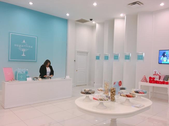 亞市西野商場新開張的Sugarfina。(記者莊婷/攝影)