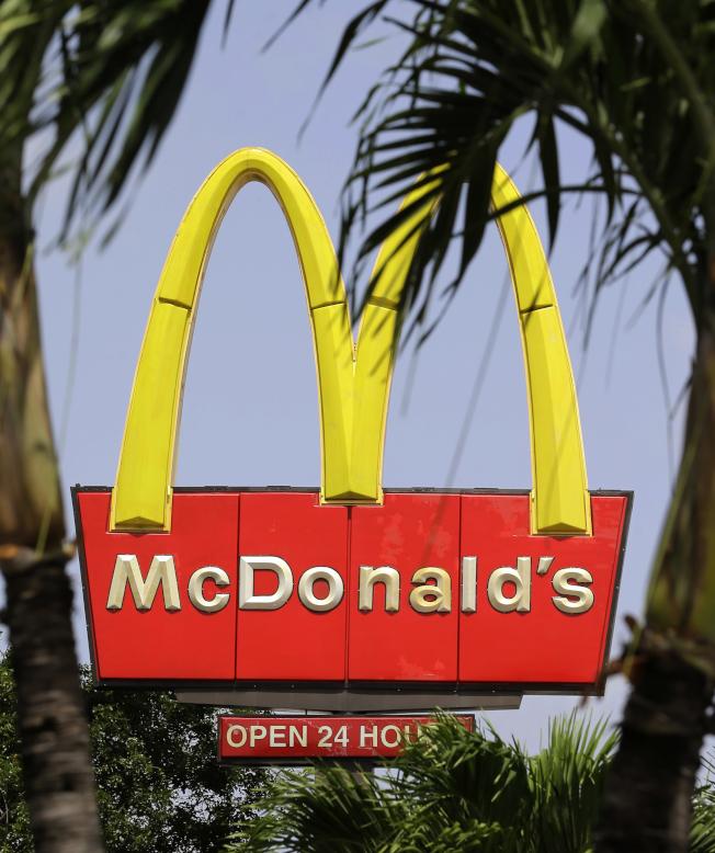 麥當勞將於下月推出全新超值餐菜單。(美聯社)