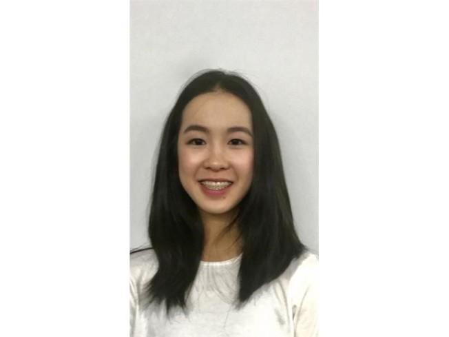 李佳倩和兩名隊友一起在華府獲得2017「西門子科學獎」。(取自西門子官網)