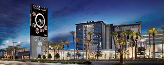 位於拉斯維加斯的SLS酒店。(SLS酒店官網)