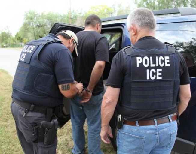 川普上台至今,逮捕無證移民增四成。(本報檔案照)