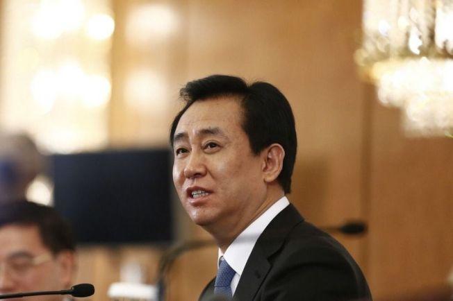 中國首富許家印。中新社