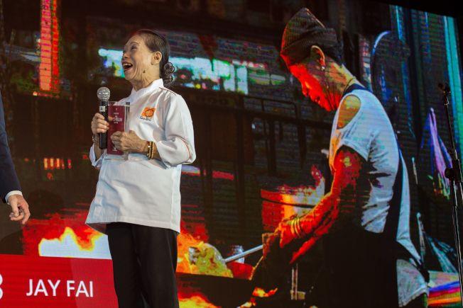 泰國小吃店Jay Fai獲得米其林一星的肯定。Getty Images