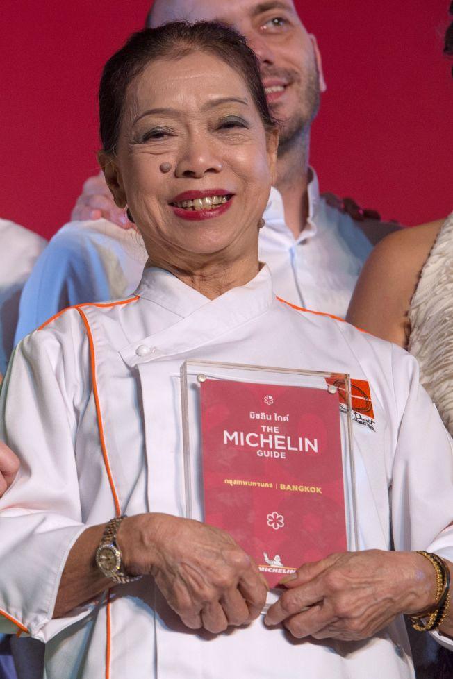 泰國小吃店Jay Fai的72歲女老闆。Getty Images