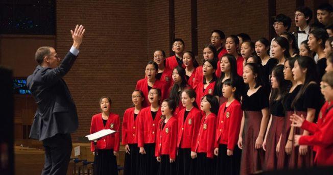 榮星兒童合唱團9日下午舉行冬季音樂會。(Glorystar官網)