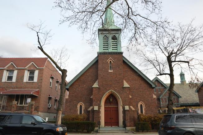 木邊地區多移民聚居,有許多各具風格的教堂。(記者牟蘭/攝影)