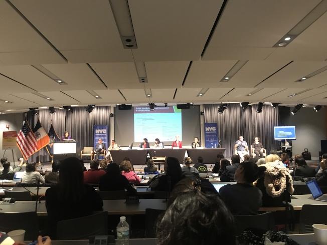 市人權局舉辦「女性和職場」公聽會。(記者牟蘭/攝影)