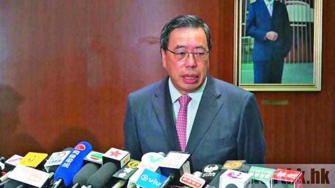 梁君彥指聖誕節前並非通過修改《議事規則》的死線。(取材自香港電台)
