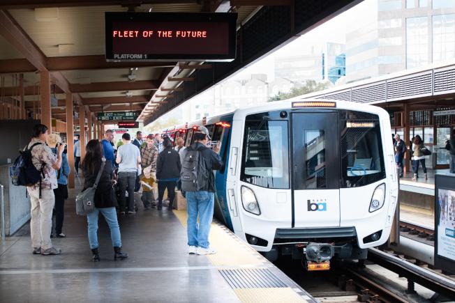 灣區捷運1月1日起漲票價,新購的列車同時投入服務。(圖:捷運提供)