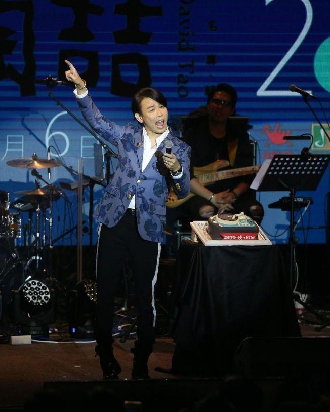 陶喆舉辦新歌演唱會。(記者陳瑞源/攝影)