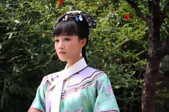 藍盈瑩出演《甄嬛傳》中的浣碧。(取材自豆瓣電影)