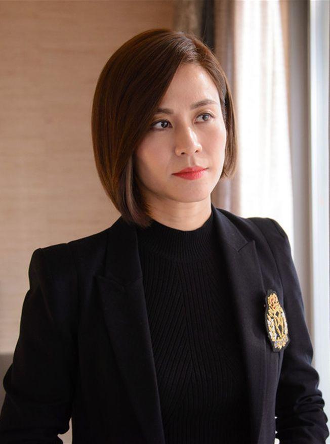 宣萱曾是TVB收視女王,人氣和實力都相當強勁。(取材自微博)