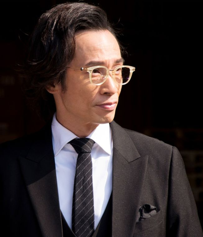 陳豪在《使徒行者2》中出演黑幫頭子,演技出彩。(取材自微博)