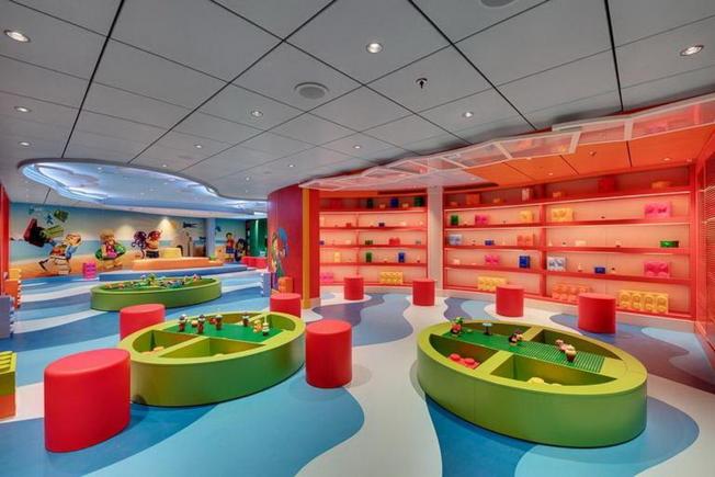 海濱級遊輪上的兒童遊樂區之一。(MSC Cruises提供)
