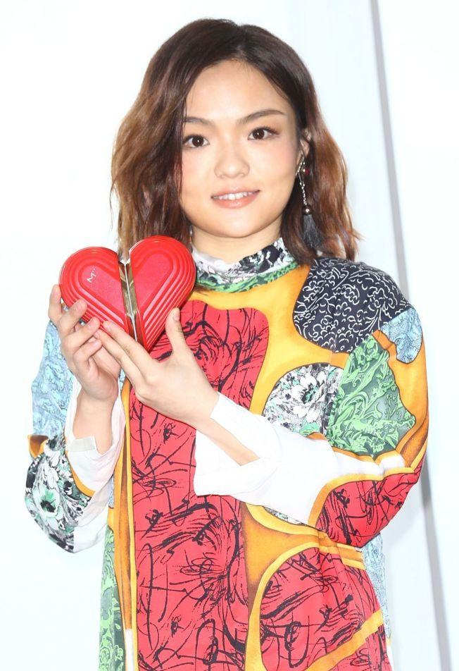 徐佳瑩與男友比爾賈交往近3年,感情穩定。(記者曾學仁/攝影)