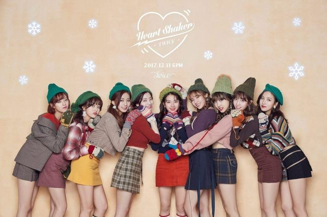 Twice新專輯聖誕氣氛濃郁。(取材自臉書)