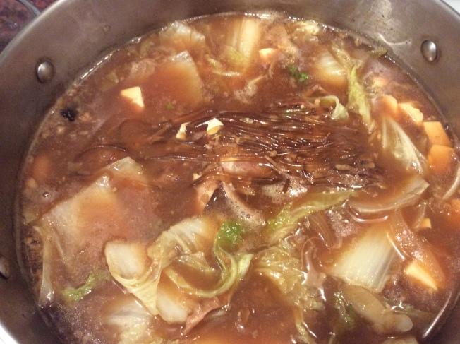 火雞白菜粉絲湯