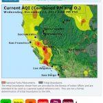 山火災區空污嚴重 聖谷質量中等