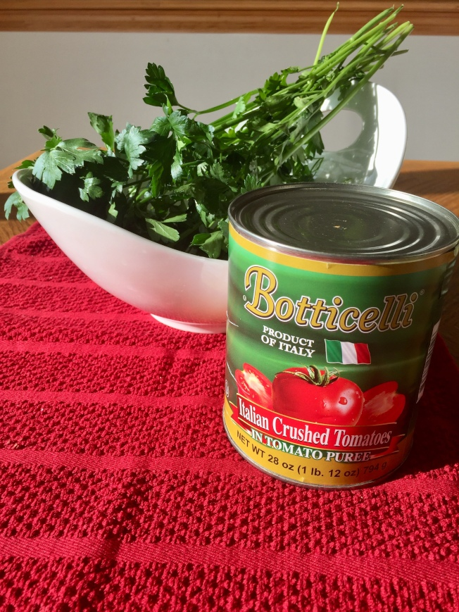 番茄與洋香菜