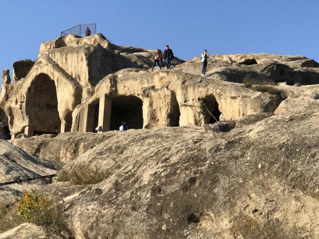 洞穴城市。