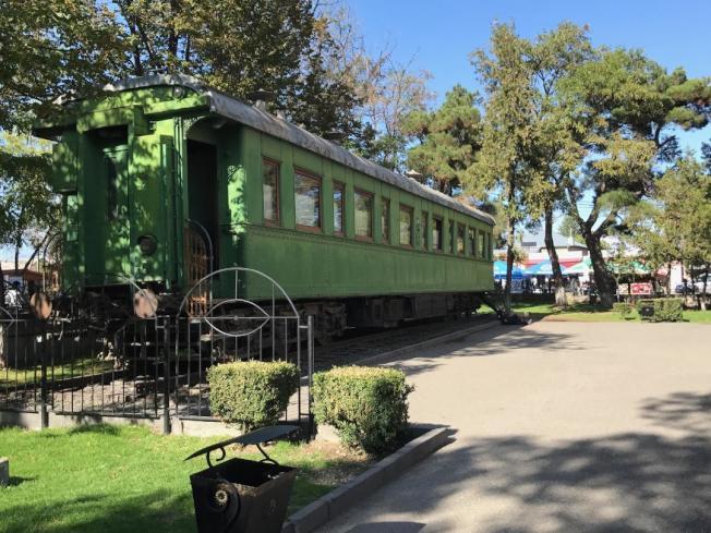 史達林專用列車。