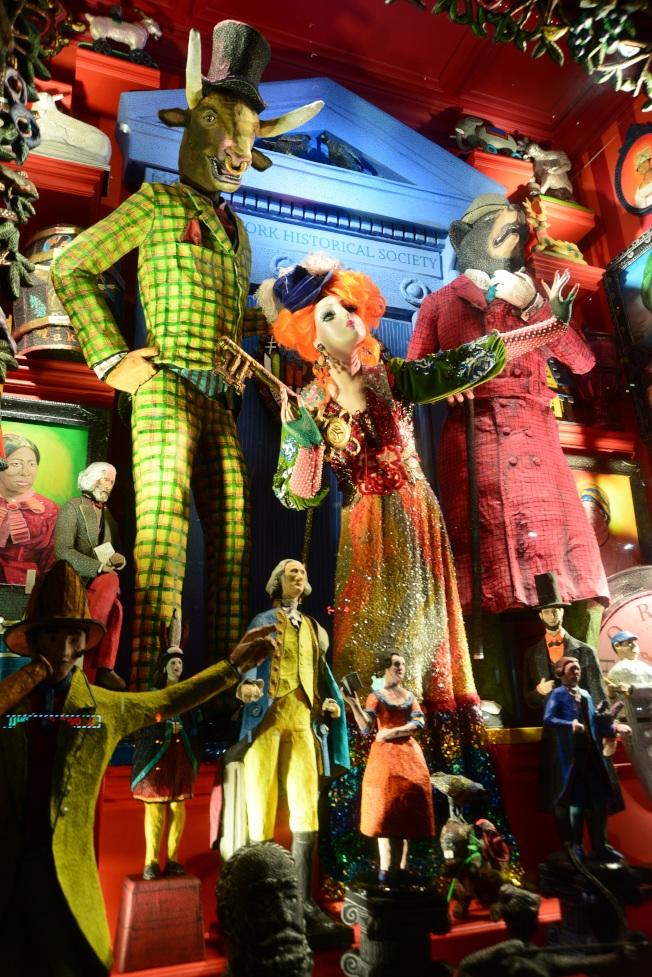 波道夫古德曼百貨為美國歷史協會設計的櫥窗。