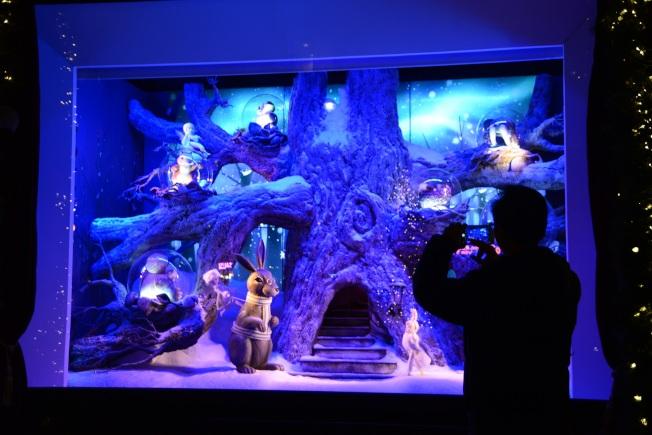 羅德與泰勒百貨櫥窗「冬日的森林」。