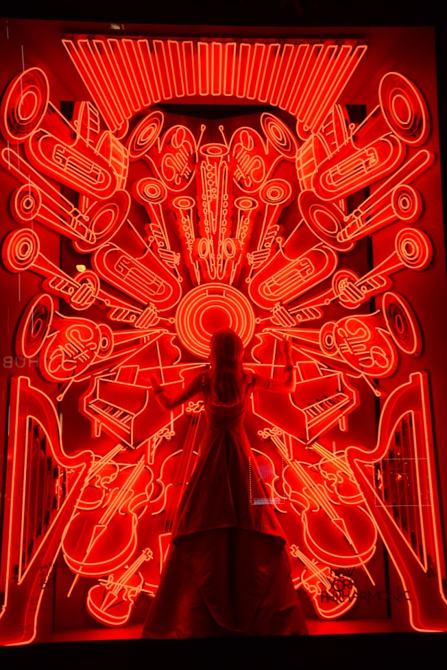 波道夫古德曼百貨為紐約愛樂設計的櫥窗。