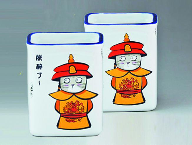 故宮博物院文創旗艦店的部分產品。(取材自中國新聞周刊)