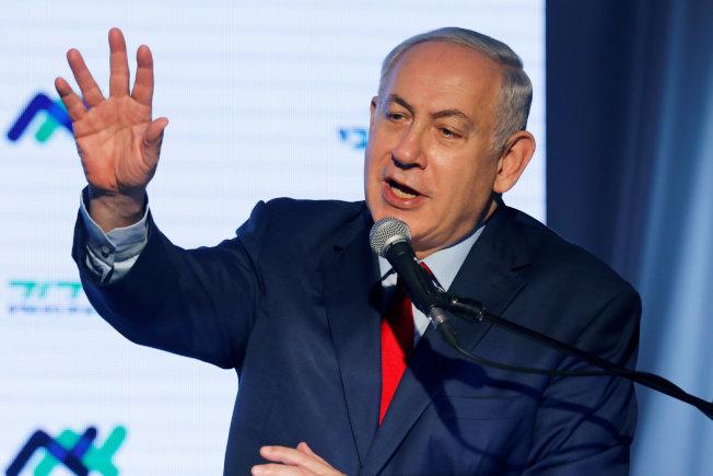 以色列總理內唐亞胡。(路透)