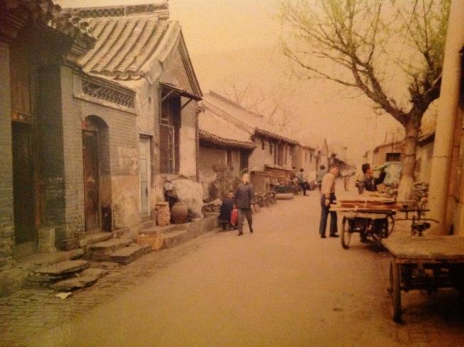 1990年代的南柳巷。(葉瑜蓀攝)