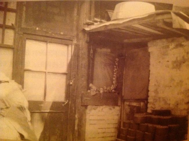 當年林家住的晉江會館北屋已破敗。(2000年時攝)