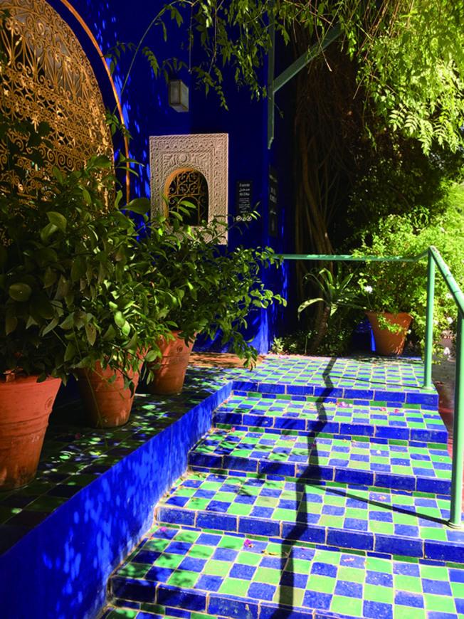 上個世紀最神祕、充滿異域風情的馬約爾花園。(靜子.圖片提供)