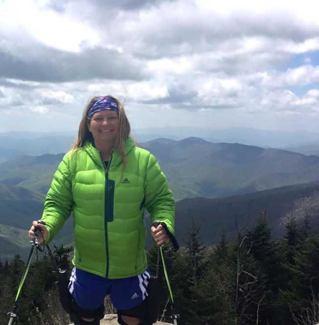史黛西•柯茲爾宣稱她有縱走東西兩岸最長步道的紀錄。(取自臉書)