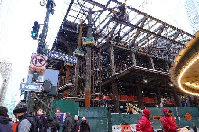 One Vanderbilt是曼哈頓中城東區重新規畫計畫後第一個商業項目。(記者金春香╱攝影)