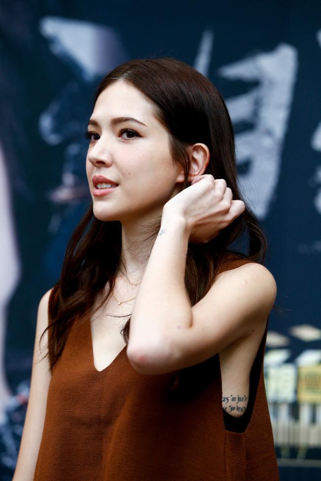 許瑋甯今年10月大方認愛曾是伊林男模、目前是攝影師的男友劉又年。(記者程宜華/攝影)
