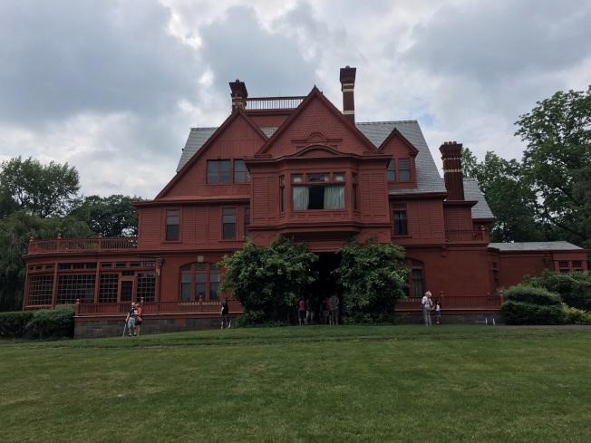 愛迪生國家歷史公園附近的愛迪生故居。