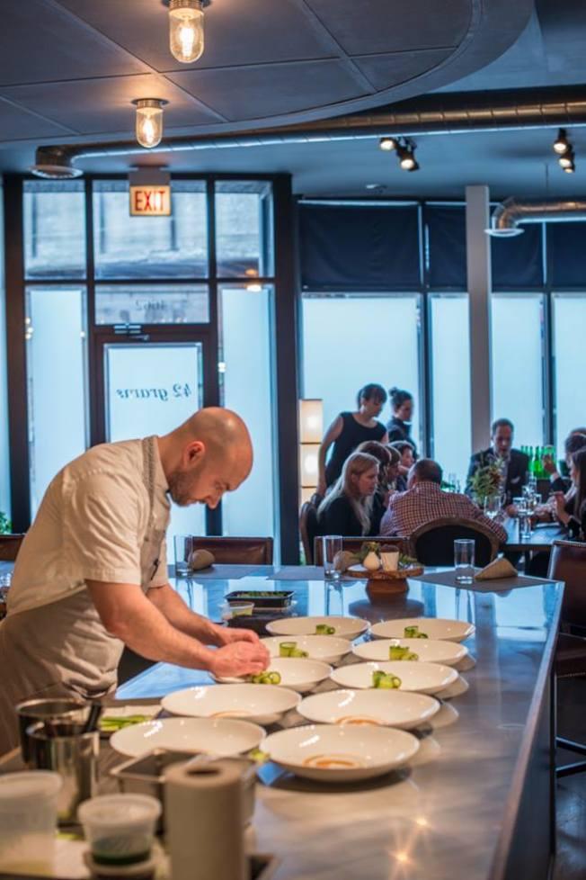 走高端路線的42 Grams餐廳,儘管口碑不錯,生意也興隆,但仍舊逃不過營運不善的關門厄運。(42 Grams官方臉書截圖)