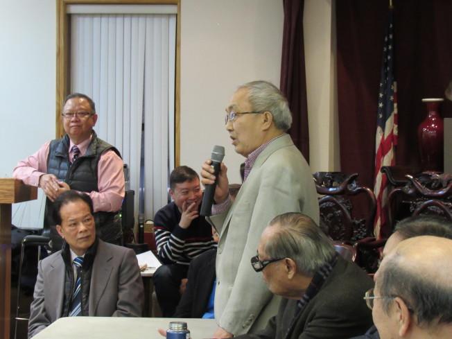 蕭貴源認為,臨時執行小組的「正本清源」說,應從自己做起。(記者顏嘉瑩╱攝影)