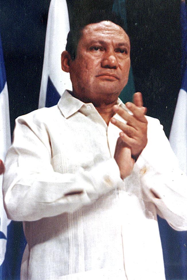 巴拿馬前獨裁者諾瑞嘉。(路透資料照片)