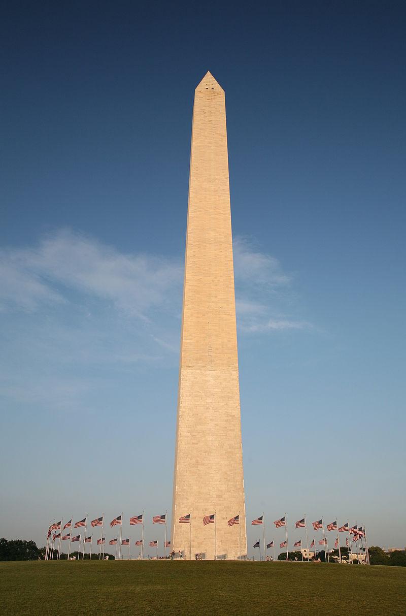 位於華府的華盛頓紀念碑。(WikiCommons)