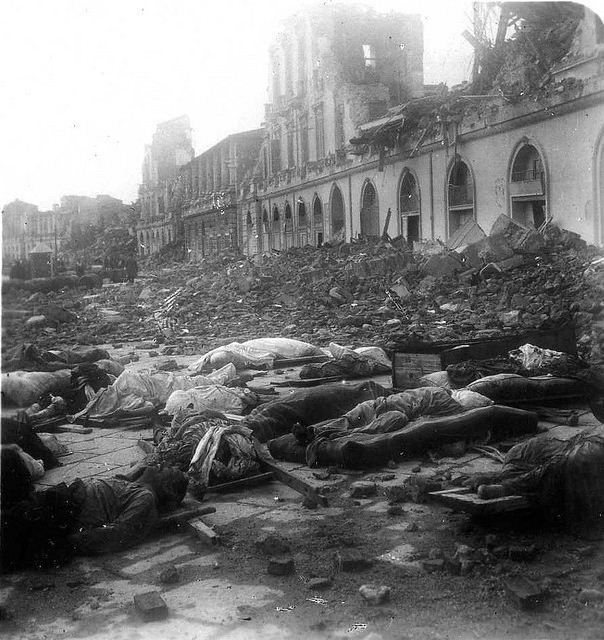 1908年12月28日,義大利西西里島的第二大城市梅西納(Messina)發生規模7.5的大地震,死傷為歐洲史上最慘重。(WikiCommons)
