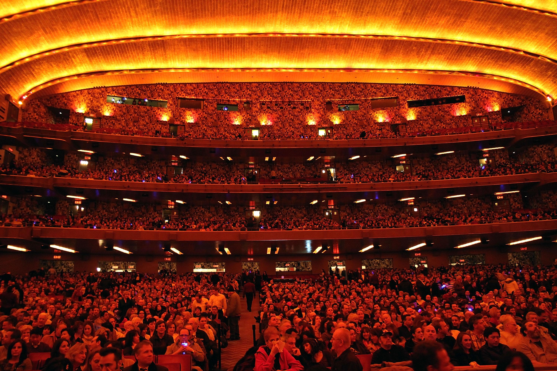 無線電城音樂廳仍是全世界最大的室內劇院,現在劇院也被用來舉辦許多活動。(Getty Images)