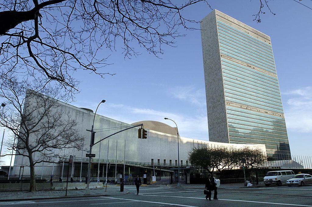 位於紐約市的聯合國總部。(Getty Images)
