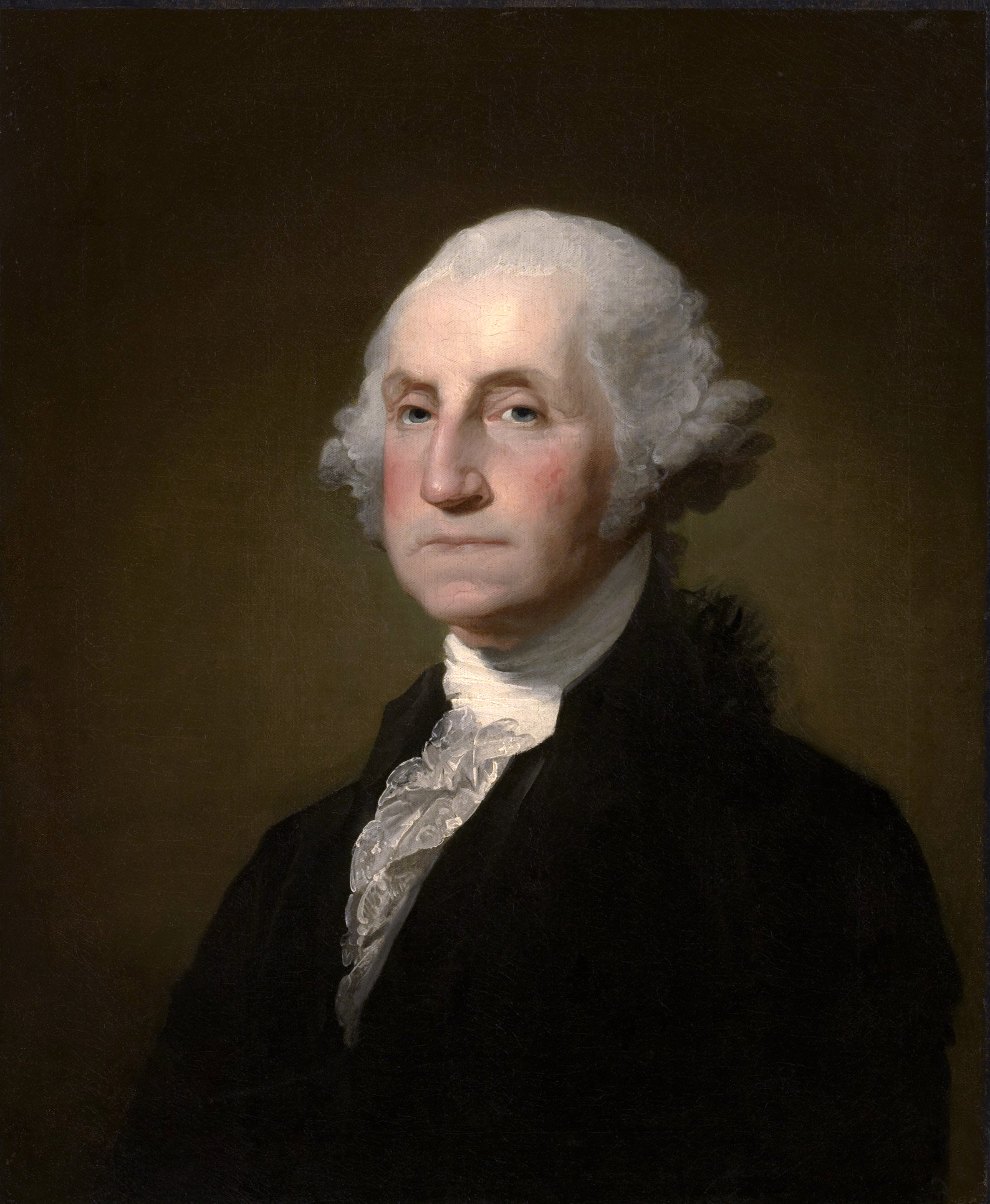美國開國元首華盛頓(George Washington)。(WikiCommons)